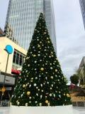 Christmas Tree in Phoenix Downtown, AZ Royalty Free Stock Photo