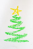 Christmas tree picture Royalty Free Stock Photography