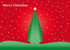 Christmas tree. Postcard Stock Photo