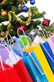 Christmas Tree Presents Stock Photography