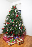 Christmas tree and presents Royalty Free Stock Photo