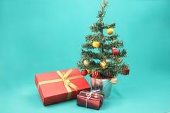 Christmas tree and presents - Series 5 Stock Photos