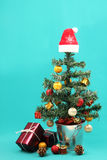 Christmas tree and presents - Series 4 Royalty Free Stock Photography