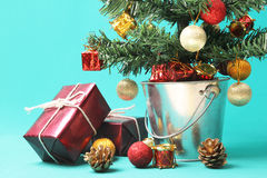 Christmas tree and presents - Series 3 Stock Photography