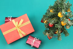 Christmas tree and presents - Series 2 Stock Images