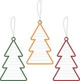 Christmas tree price tag Royalty Free Stock Photo