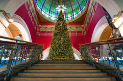 Christmas tree at Queen Victoria Building Royalty Free Stock Images