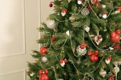 Christmas tree ready for celebration Stock Photos