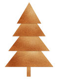 Christmas tree recycled papercraft Stock Photography