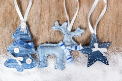 Free Christmas Tree, Reindeer And Star Royalty Free Stock Image - 44532196