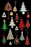 Christmas Tree Bauble Decorations Stock Photos
