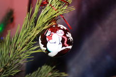 Christmas tree& x27;s toy Stock Photo