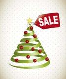 Christmas tree sale Stock Photos