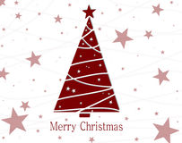 Christmas tree sale Stock Image