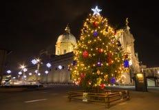 Christmas tree of Santa Maria degli Angeli Stock Photo