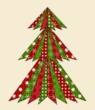 Christmas tree for scrapbooking 1 Royalty Free Stock Photos