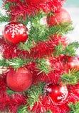 Christmas tree on the sea beach. Royalty Free Stock Photo