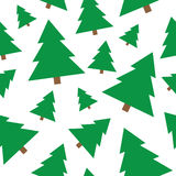 Christmas tree seamless background Royalty Free Stock Photo