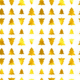 Christmas tree seamless background. Vector illustration. 10 eps Stock Photo