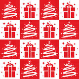 Christmas tree Seamless Royalty Free Stock Photography