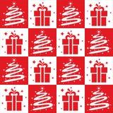 Christmas tree Seamless Royalty Free Stock Photography