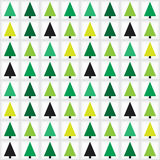 Christmas tree seamless pattern background. Royalty Free Stock Photo