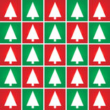 Christmas tree seamless pattern background. Abstract Christmas tree seamless pattern background Stock Image