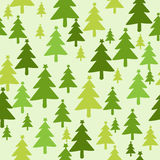 Christmas tree seamless pattern Royalty Free Stock Photos