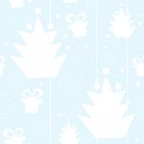 Christmas tree seamless pattern Royalty Free Stock Images