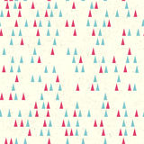 Christmas tree seamless pattern. Vector. Illustration Stock Photography