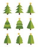 Christmas tree. Seasonal & holiday funny Royalty Free Stock Image