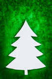 Christmas tree shape Royalty Free Stock Photography