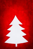 Christmas tree shape Royalty Free Stock Image