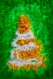 Christmas tree shape Royalty Free Stock Photos