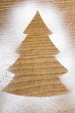 Christmas tree shape Stock Photography