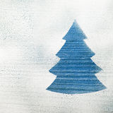 Christmas tree shape Stock Photos