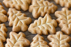 Christmas Tree Shaped Cookies Stock Image