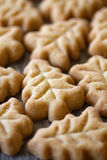 Christmas Tree Shaped Cookies Stock Images