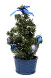 Christmas tree. Small Christmas tree isolated on a white background Royalty Free Stock Images