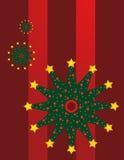 Christmas Tree Snowflake Royalty Free Stock Photos