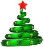 Christmas tree souvenir Stock Image