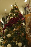 The Christmas tree. Special decorations for the Christmas tree Royalty Free Stock Photos