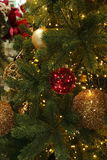 The Christmas tree. Special decorations for the Christmas tree Stock Photography
