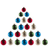 Christmas tree Spheres Stock Image