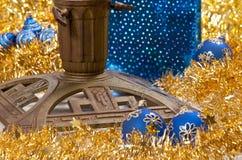 Christmas tree stand Royalty Free Stock Image