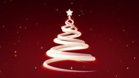 Christmas Tree Festive Animation 4K royalty free illustration