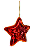 Christmas-tree star toy Royalty Free Stock Photography