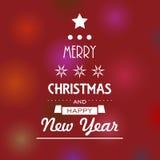 Christmas tree stars Stock Photo