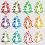 Christmas tree stick Stock Image