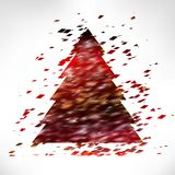 Christmas tree . Stock Images